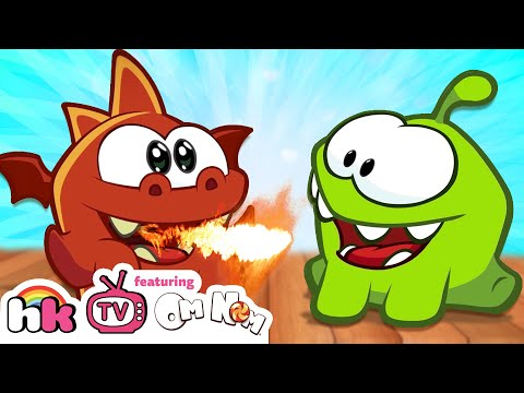 Om Nom Stories: Dragon Warrior | Om Nom Season 4: Magic | Funny Cartoons | HooplaKidz TV