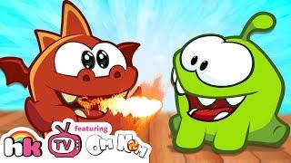 Om Nom Stories: Dragon Warrior   Om Nom Season 4: Magic   Funny Cartoons   HooplaKidz TV