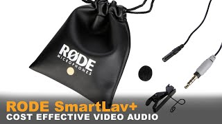 Get good Audio with your Videos for cheap | Rode SmartLav+