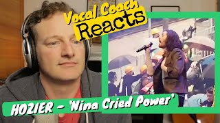 Vocal Coach REACTS - HOZIER 'Nina Cried Power'