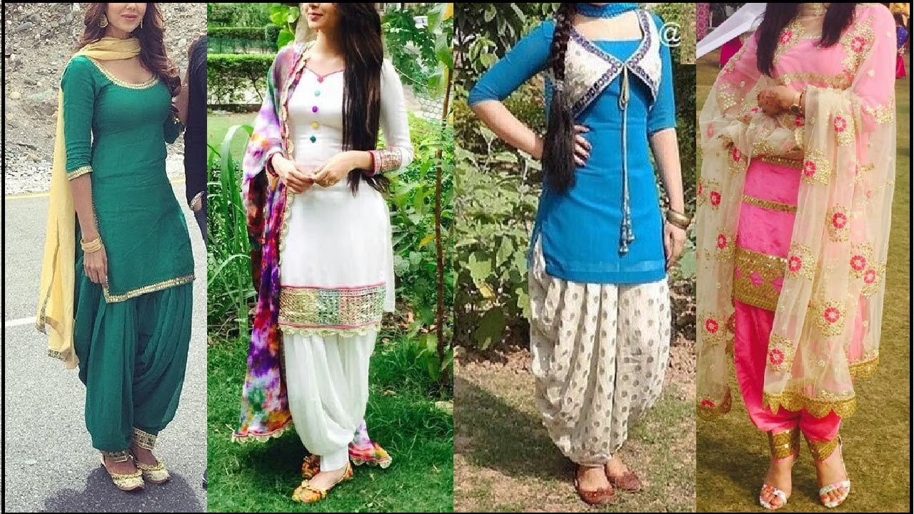 64864452e3 Top Beautiful Patiala Shahi Salwar Suits #Latest Punjabi Suits designs For Punjabi  Girls