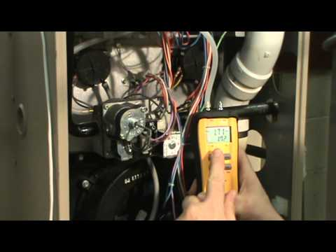 Nat Gas Manifold pressure check on 2 stage Furnace