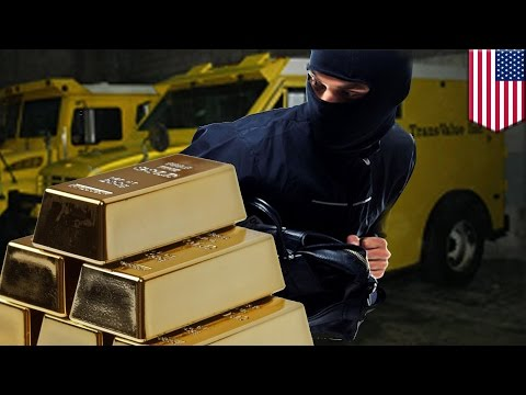 Armored truck robbery: thieves make off with US$4 million in gold after tying up security guards