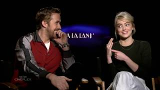 Ryan Gosling and Emma Stone talk La La Land