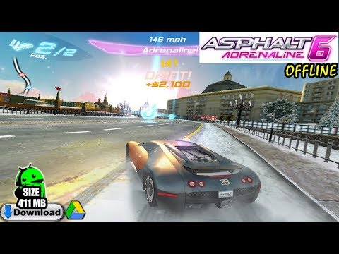 Asphalt 6: Adrenaline HD Android (Download) ││ Asphalt 6: Adrenaline HD Gameplay