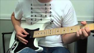 How to play Summer of 69 by Bryan Adams ( with Tabs)