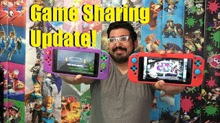 Game Sharing on Nintendo Switch UPDATED