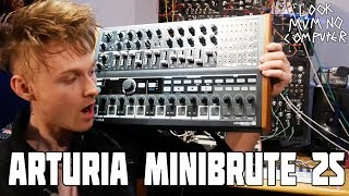 ARTURIA MINIBRUTE 2S its Ready for Namm 2018