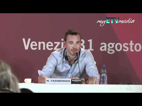 Michael Fassbender on a Dangerous Method (Venice Film Festival)