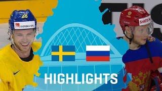 Sweden - Russia | Highlights | #IIHFWorlds 2017