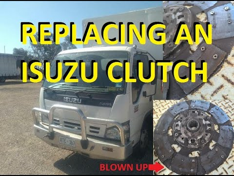 Ep 91 – Fixing ISUZU NPR Truck clutch! Replacement