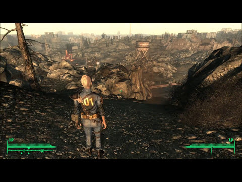 Fallout 3 Mod Armored Vault Utility Jumpsuit Youtube