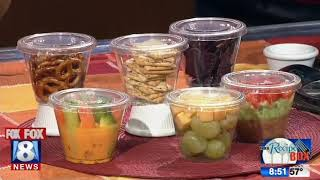 Portions and presentation help give healthy snacks ap-peel