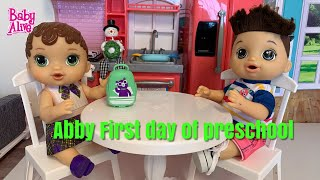 Baby Alive Abbys Morning Routine baby alive videos