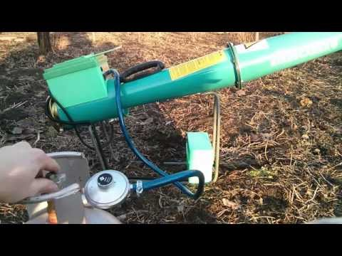 AGRIPROF ( Agri - E1) Bird & Wildlife Animals Scarer Lpg Cannon ( our Russian Customers tests)