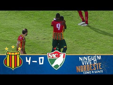 Melhores momentos - Sampaio Corrêa 4 x 0 Salgueiro - Copa do Nordeste (08/02/2018)