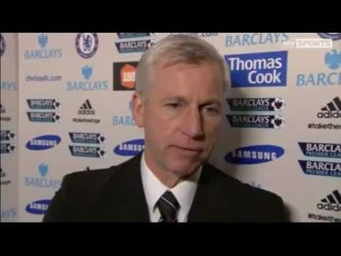 Chelsea 0-2 Newcastle United - Alan Pardew Interview - 2nd May 2012