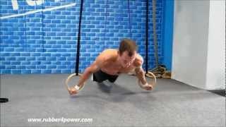 Богачёв Евгений: тренировка с кольцами в CrossFit (the best crossfit gymnastic rings training ever)
