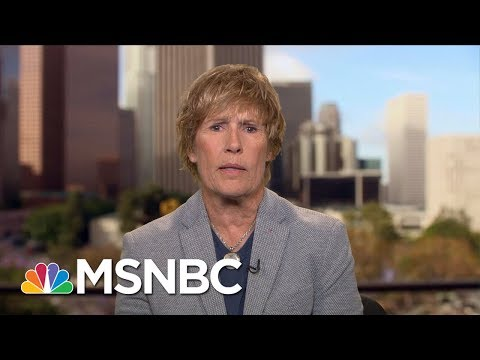 Legendary Swimmer Diana Nyad Opens Up About Her Sexual Assault | Andrea Mitchell | MSNBC