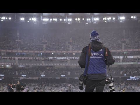 A Day in the life: AFL Photographer Michael Willson