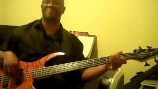 GET DOWN ON IT - KOOL AND THE GANG- BASS COVER BY, BSMOOTH512