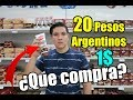 Cuántos son 20 pesos Argentinos en Bolívares, Supermercado en ¡VENEZUELA!