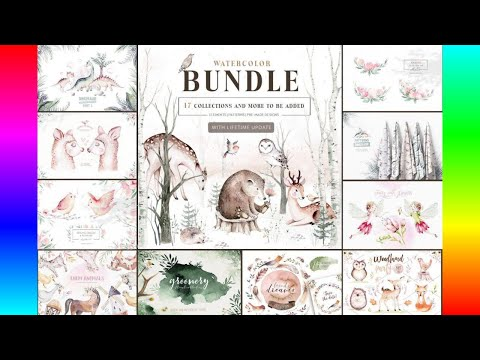 illustrations:-best-sellers-watercolor-bundle