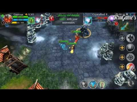 Heroes Of Order & Chaos Android Gameplay