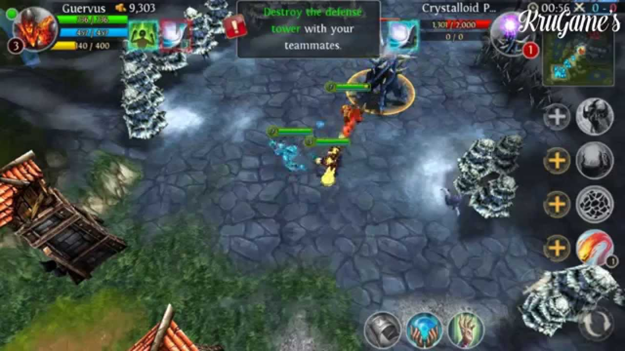 Heroes Of Order Chaos Android Gameplay