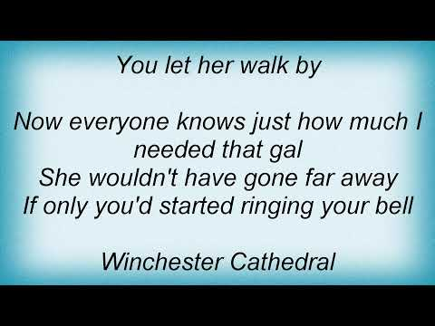The New Vaudeville Band - Winchester Cathedral Lyrics