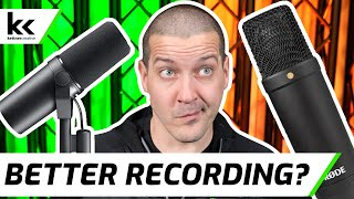 Shure SM7B vs Rode NT1 Compari…