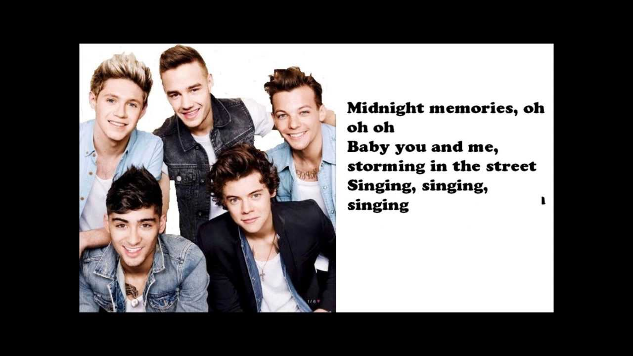 Album Review: 'Midnight Memories,' One Direction – Bryce ... |One Direction Song Quotes Midnight Memories