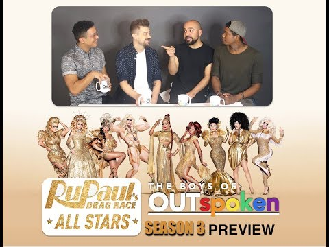 OUTspoken: RuPaul's Drag Race : ALL STARS 3 PREVIEW