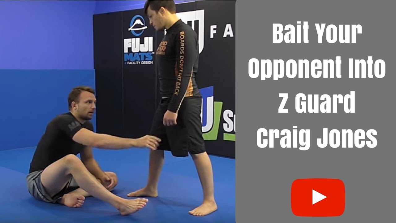 Baiting Opponent Into Z Guard by Craig Jones