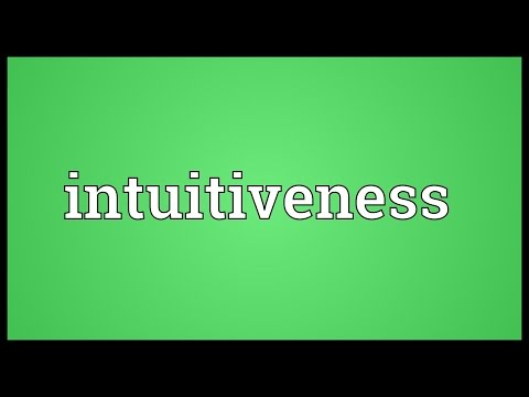 Header of intuitiveness