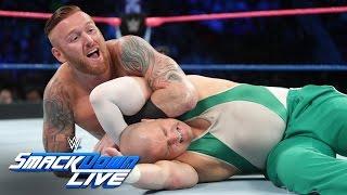 Heath Slater & Rhyno vs. Spirit Squad – SmackDown Tag Team Titel Match: SmackDown LIVE, 25. Oktober