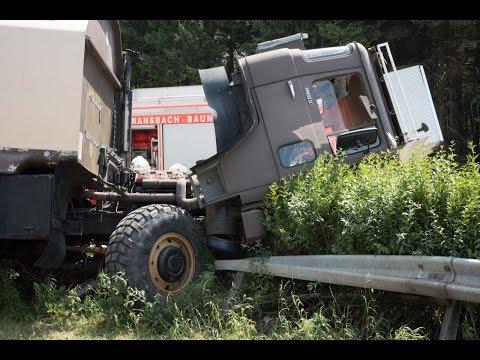 LKW-Unfall auf A48