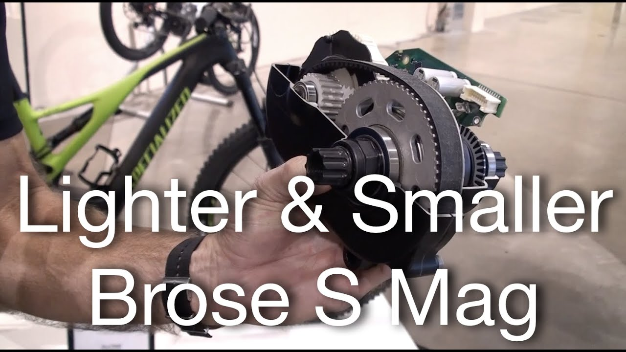 Brose S Mag - Lighter & Smaller Mid Drive Motor | Electric Bike Report