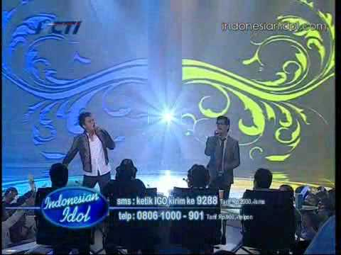 Igo feat Afgan - Sadis [ Duet Superstar ] Indonesian Idol 2010 / 23-07
