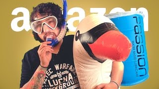 One of Cow Chop's most viewed videos: 55 GALLONS OF PASSION LUBE • AMAZON PRIME TIME