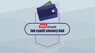 Jak využít slevový kód SOScredit cz