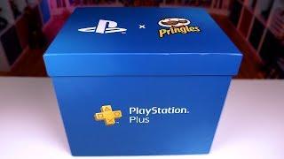 КОРОБКА от PlayStation и Pringles