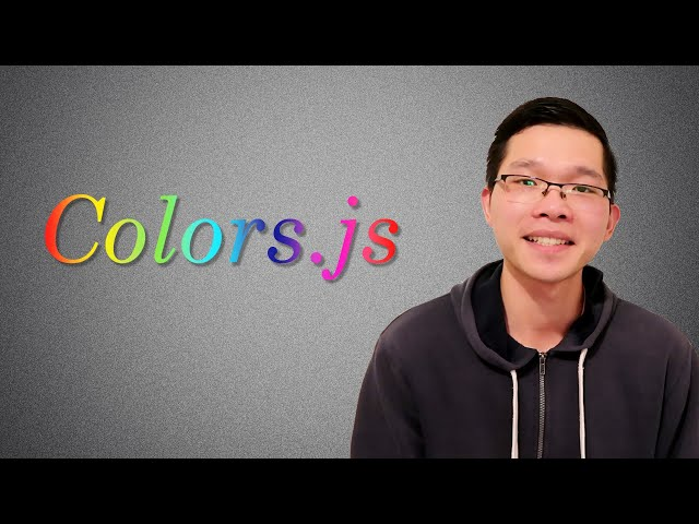 Colors.js - One of The Most Popular Libraries