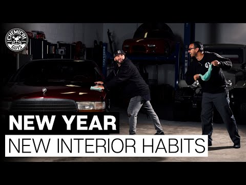 Interior Detailing New Years Resolution - Chemical Guys