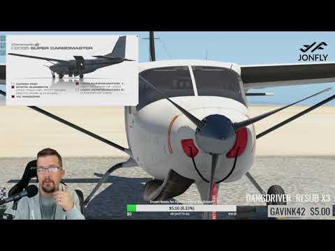 New Carenado Cessna 208 Caravan for X-plane 11 - Pilotedge and FSEconomy