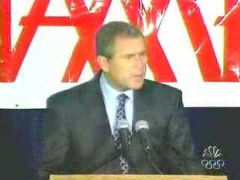 George Bush fails