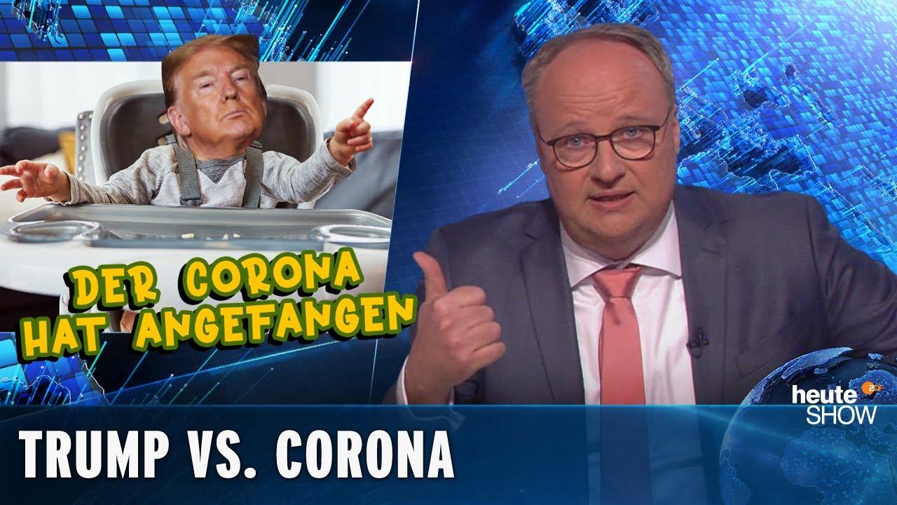 Donald Trump: Präsident, Mediziner und hypernarzisstisches Kind | heute-show vom 24.04.2020