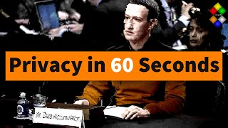 Online Privacy in 2021 in 60 Seconds #shorts