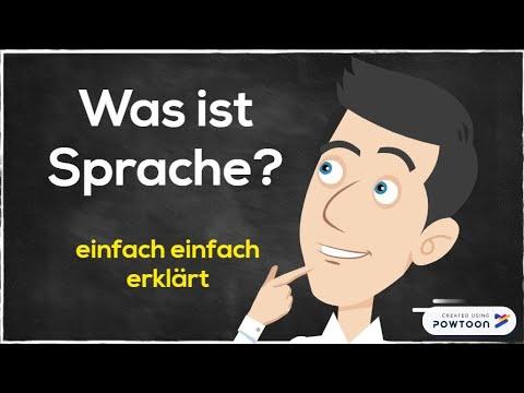 Was ist Sprache? - Eine kurze Definition aus der Sicht der Linguistikиз YouTube · Длительность: 2 мин15 с