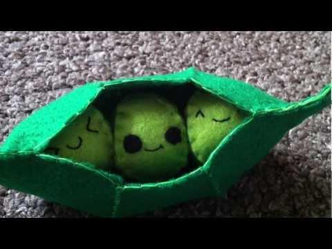 How to Make a Kawaii Peas in a Pod Plush